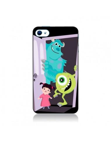 Coque Monstres et Compagnie pour iPhone 4 et 4S - Maria Jose Da Luz