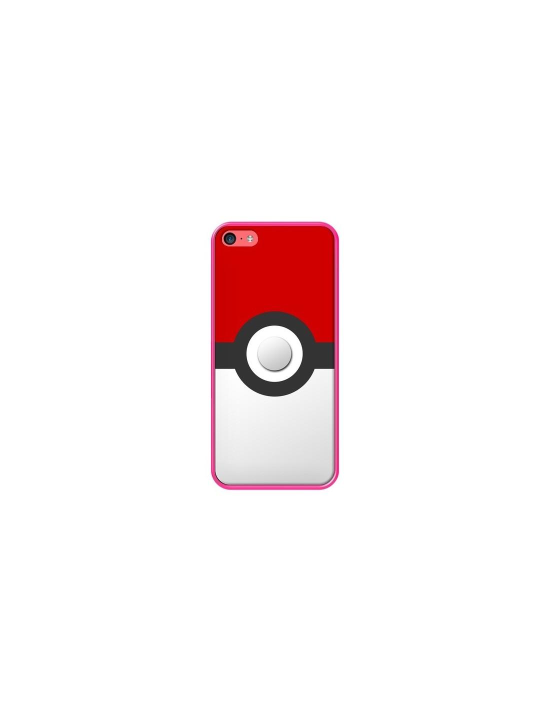coque pokemon pokeball pour iphone 5c nico. Black Bedroom Furniture Sets. Home Design Ideas