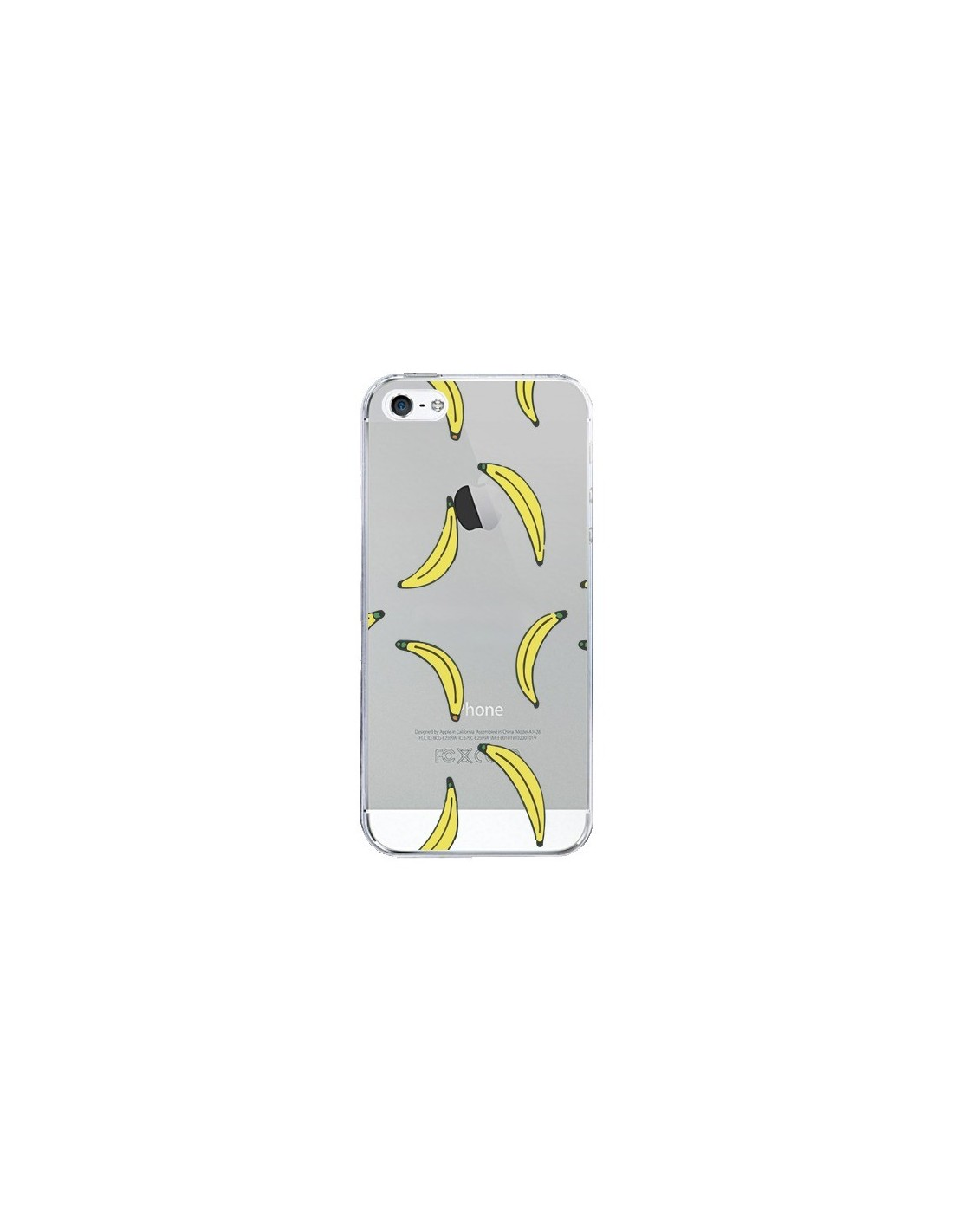 coque bananes bananas fruit transparente pour iphone 5 5s et se dricia do. Black Bedroom Furniture Sets. Home Design Ideas