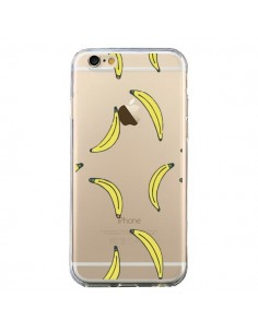 Coque iPhone 6 et 6S Bananes Bananas Fruit Transparente - Dricia Do