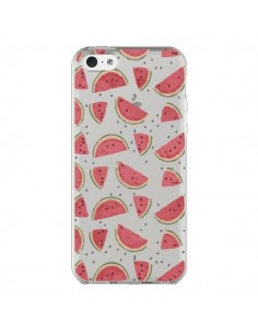 Coque Pasteques Watermelon Fruit Transparente pour iPhone 5C - Dricia Do