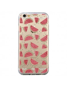 Coque Pasteques Watermelon Fruit Transparente pour iPhone 6 et 6S - Dricia Do