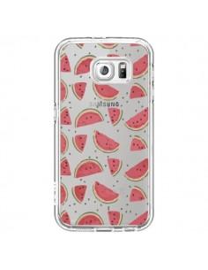 Coque Pasteques Watermelon Fruit Transparente pour Samsung Galaxy S6 - Dricia Do
