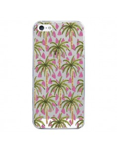 Coque iPhone 5/5S et SE Palmier Palmtree Transparente - Dricia Do
