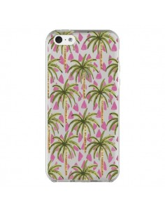 Coque Palmier Palmtree Transparente pour iPhone 5C - Dricia Do