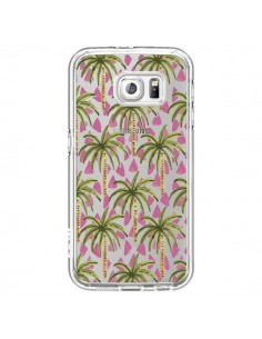 Coque Palmier Palmtree Transparente pour Samsung Galaxy S6 - Dricia Do