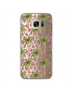 Coque Palmier Palmtree Transparente pour Samsung Galaxy S7 Edge - Dricia Do
