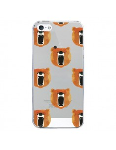 Coque Ours Ourson Bear Transparente pour iPhone 5/5S et SE - Dricia Do