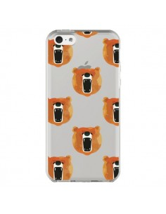 Coque iPhone 5C Ours Ourson Bear Transparente - Dricia Do