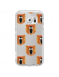 Coque Ours Ourson Bear Transparente pour Samsung Galaxy S6 - Dricia Do