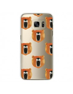 Coque Ours Ourson Bear Transparente pour Samsung Galaxy S7 Edge - Dricia Do
