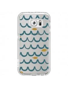 Coque Poisson Fish Water Transparente pour Samsung Galaxy S6 - Dricia Do