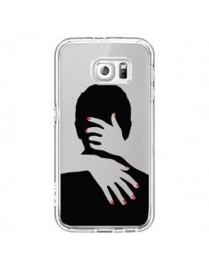 Coque Calin Hug Mignon Amour Love Cute Transparente pour Samsung Galaxy S6 - Dricia Do