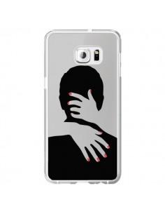 Coque Calin Hug Mignon Amour Love Cute Transparente pour Samsung Galaxy S6 Edge Plus - Dricia Do
