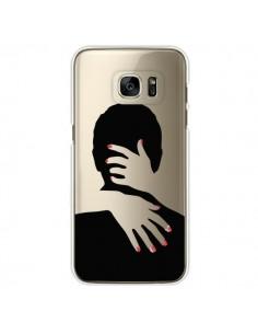 Coque Calin Hug Mignon Amour Love Cute Transparente pour Samsung Galaxy S7 Edge - Dricia Do
