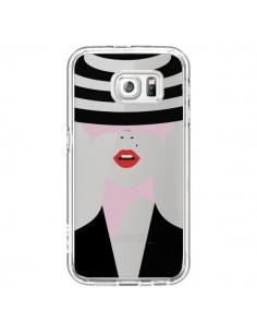 Coque Femme Chapeau Hat Lady Transparente pour Samsung Galaxy S6 - Dricia Do