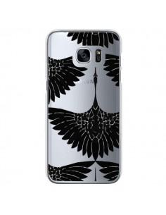 Coque Paon Faisan Transparente pour Samsung Galaxy S7 - Dricia Do