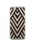 Coque Geometric Azteque Noir Transparente pour iPhone 6 et 6S - Dricia Do