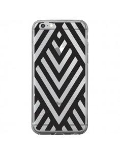 Coque Geometric Azteque Noir Transparente pour iPhone 6 Plus et 6S Plus - Dricia Do