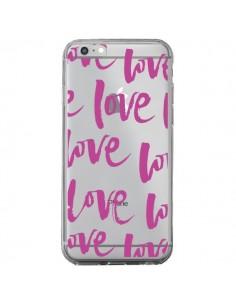 Coque Love Love Love Amour Transparente pour iPhone 6 Plus et 6S Plus - Dricia Do