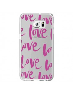 Coque Love Love Love Amour Transparente pour Samsung Galaxy S6 Edge Plus - Dricia Do