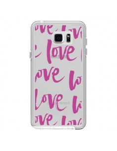 Coque Love Love Love Amour Transparente pour Samsung Galaxy Note 5 - Dricia Do