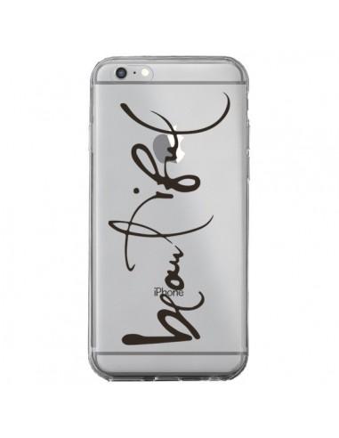 Coque Beautiful Transparente pour iPhone 6 Plus et 6S Plus - Dricia Do