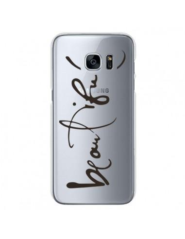 Coque Beautiful Transparente pour Samsung Galaxy S7 - Dricia Do