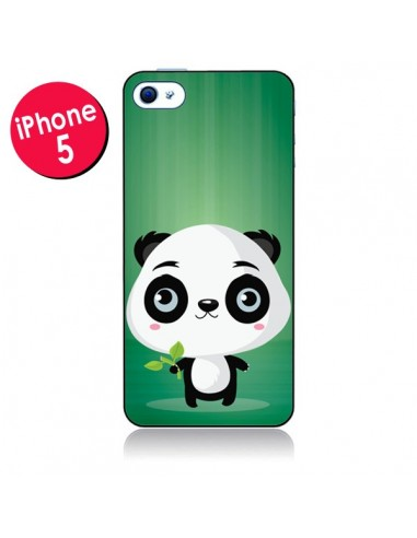 Coque Panda Mignon pour iPhone 5 - Maria Jose Da Luz
