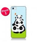 Coque Panda Famille pour iPhone 5 - Maria Jose Da Luz