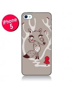 Coque Le Petit Chaperon Rouge Loup pour iPhone 5 - Maria Jose Da Luz