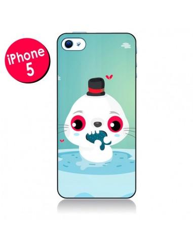Coque Phoque pour iPhone 5 - Maria Jose Da Luz