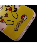 Coque Pikachu Jaune Pokemon Transparente en silicone semi-rigide TPU pour iPhone 5/5S et SE