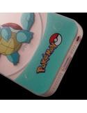 Coque Carapuce Bleu Pokemon Transparente en silicone semi-rigide TPU pour iPhone 5/5S et SE