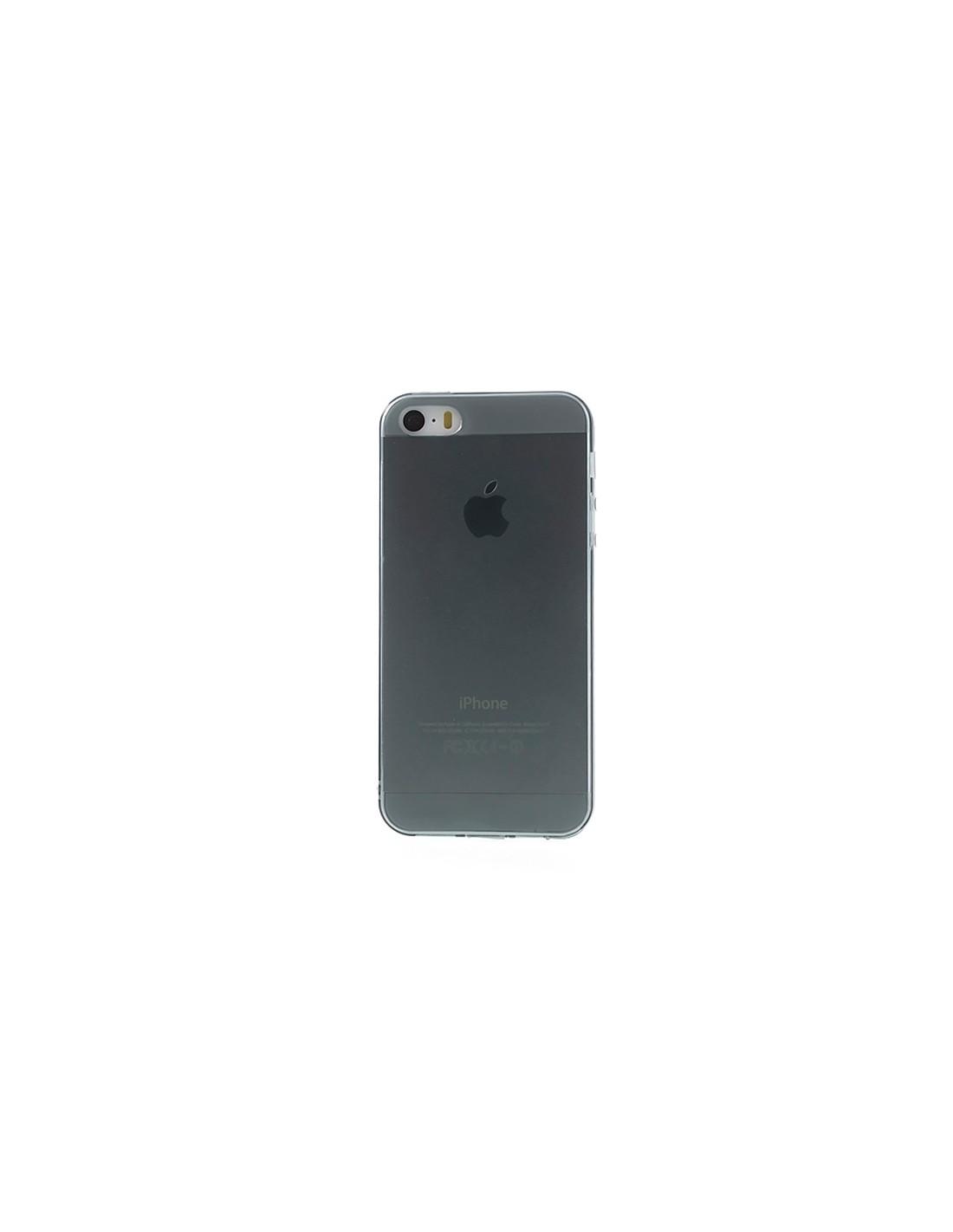 coque transparente en silicone pour iphone 5 5s et se. Black Bedroom Furniture Sets. Home Design Ideas