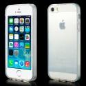 Coque Transparente en Silicone pour iPhone 5 et 5S
