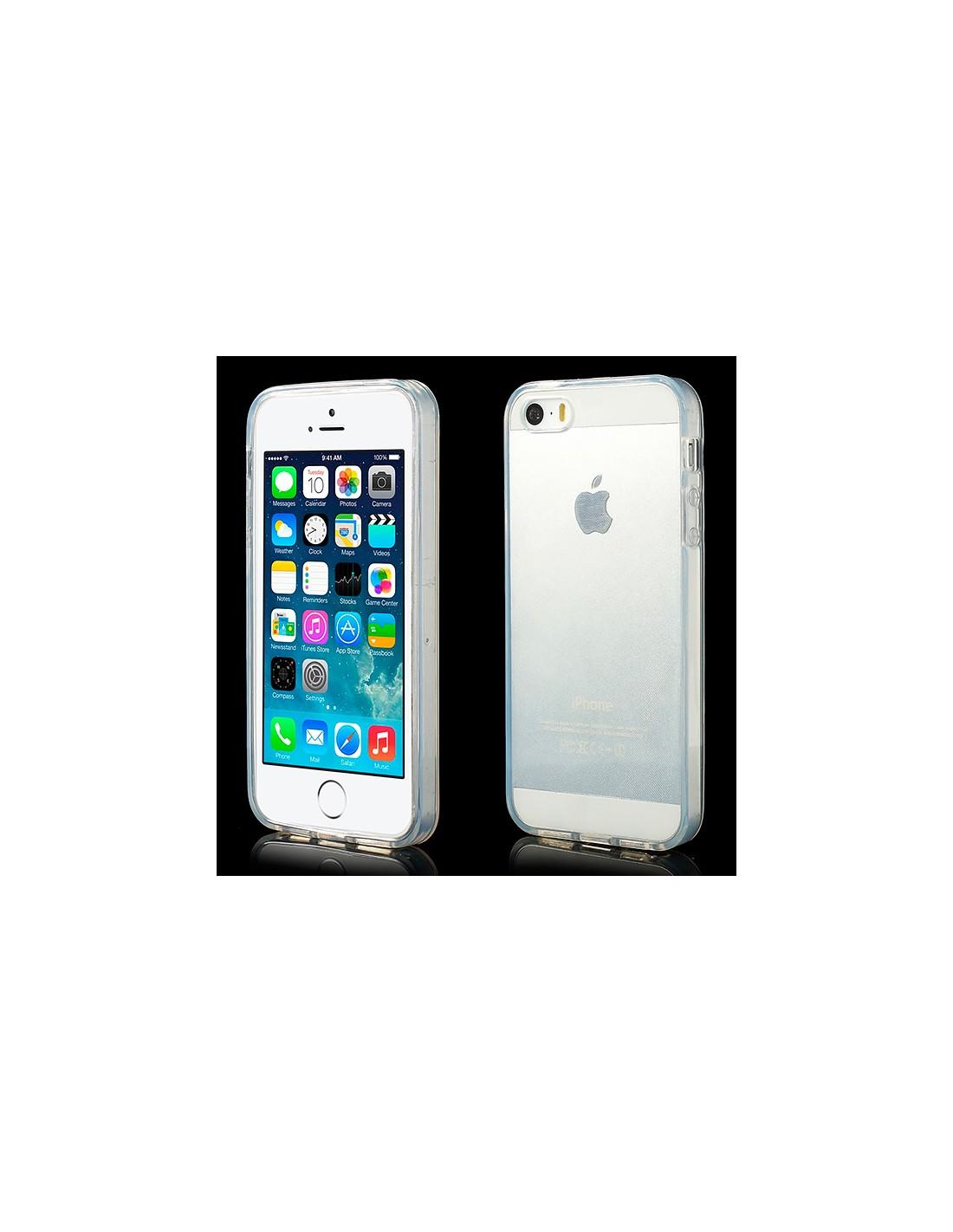 Coque Transparente Silicone Iphone