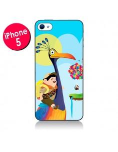 Coque La Haut Kevin et Russel pour iPhone 5 - Maria Jose Da Luz