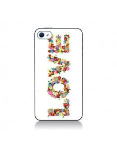 Coque Love Fleurs et Russel pour iPhone 4 et 4S - Nico