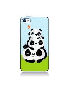 Coque Panda Famille pour iPhone 4 et 4S - Maria Jose Da Luz