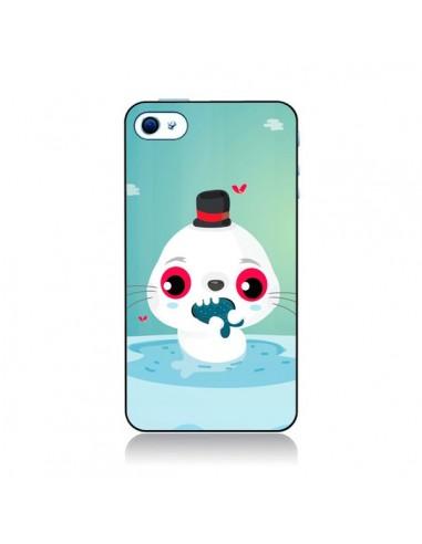 Coque Phoque pour iPhone 4 et 4S - Maria Jose Da Luz
