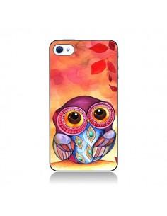 Coque Chouette Feuilles Automne pour iPhone 4 et 4S - Annya Kai
