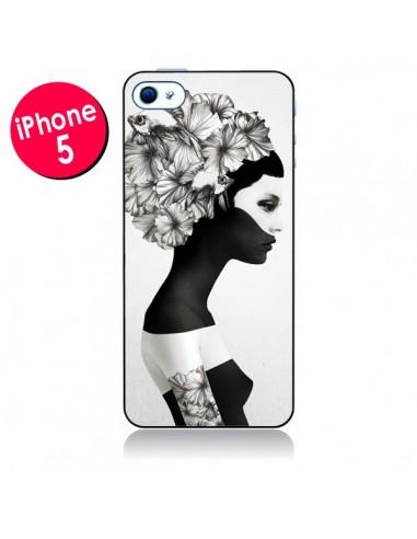 Coque Marianna Fille Fleurs pour iPhone 5 - Ruben Ireland et Jenny Liz Rome