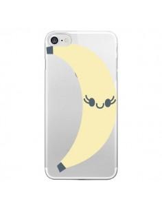 Coque Banana Banane Fruit Transparente pour iPhone 7 - Claudia Ramos