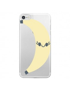 Coque Banana Banane Fruit Transparente pour iPhone 7 et 8 - Claudia Ramos