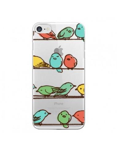 Coque Oiseaux Birds Transparente pour iPhone 7 et 8 - Eric Fan