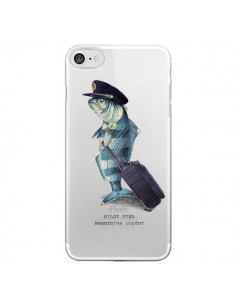 Coque Pilot Fish Poisson Pilote Transparente pour iPhone 7 - Eric Fan