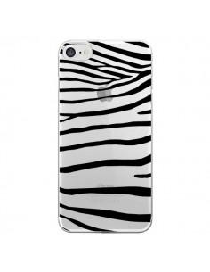 Coque Zebre Zebra Noir Transparente pour iPhone 7 et 8 - Project M