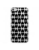 Coque Coeurs Heart Noir Transparente pour iPhone 7 et 8 - Project M