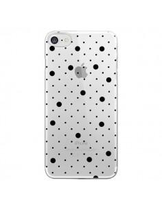 Coque Point Noir Pin Point Transparente pour iPhone 7 et 8 - Project M